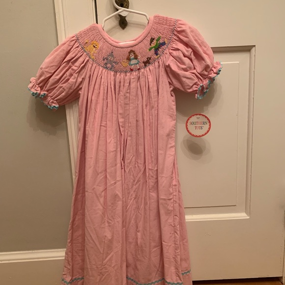 Southern Tots Other - Smocked Wizard of Oz Dress